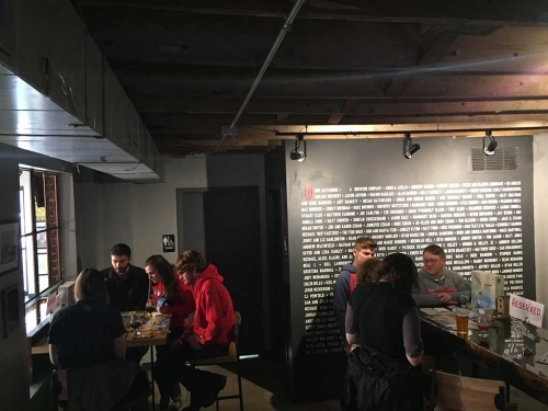 "Rogue Birders' ""Birds & Brews"" at Land-Grant Brewing Company"